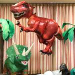 手作りのかわいい恐竜